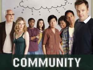 The cast of Community.