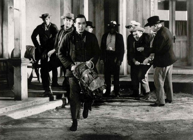 """James Shigeta starred in this """"East-meets-Western,"""" """"Walk like a Dragon."""" Print courtesy of Academy Film Archive."""