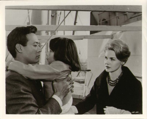 """Still from """"Bridge to the Sun,"""" starring James Shigeta and Carroll Baker. Photo courtesy of Warner Bros. Pictures."""