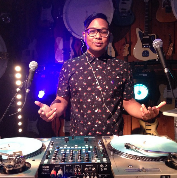 DJ Bonics. Image from Instagram.