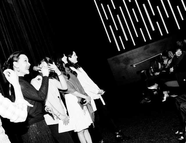 SFIAAFF30 Saving Face Reunion Joan Chen, Michelle Krusiec, Lynn Chen (c) Jennifer Yin / CAAM
