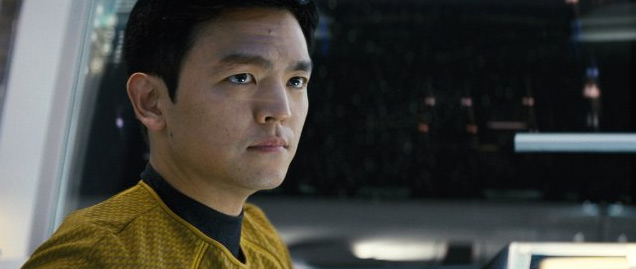 "John Cho stars as Sulu in ""Star Trek."" Paramount Pictures."
