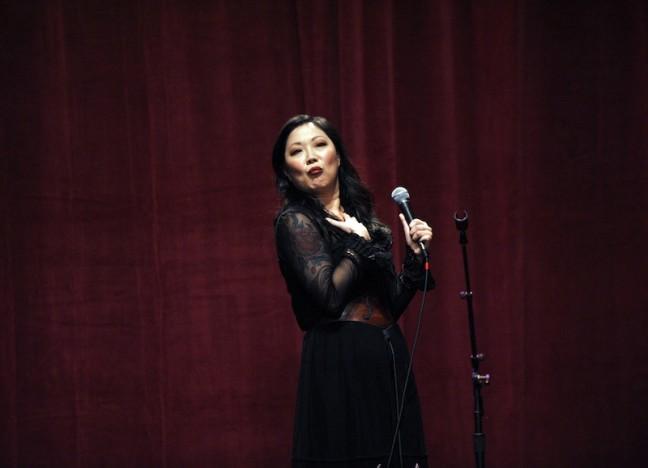 Margaret Cho in 2010. Photo credit: Lindsey Byrnes.