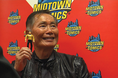 "George Take in ""To Be Takei."""