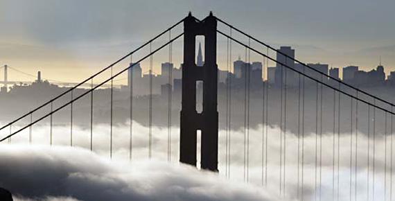 SF Golden Gate Fog