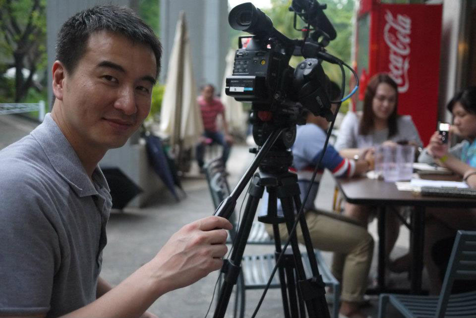 "Filmmaker S. Leo Chiang (""A Village Called Versailles,"" ""Out Run"")."