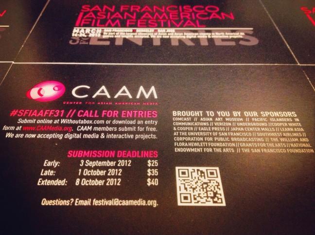 CAAM_SFIAAFF31_Call_For_Entries_Postcard