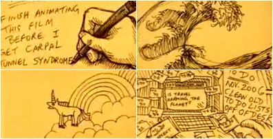 Jeff Chiba Stearns' short film, Yellow Sticky Notes.