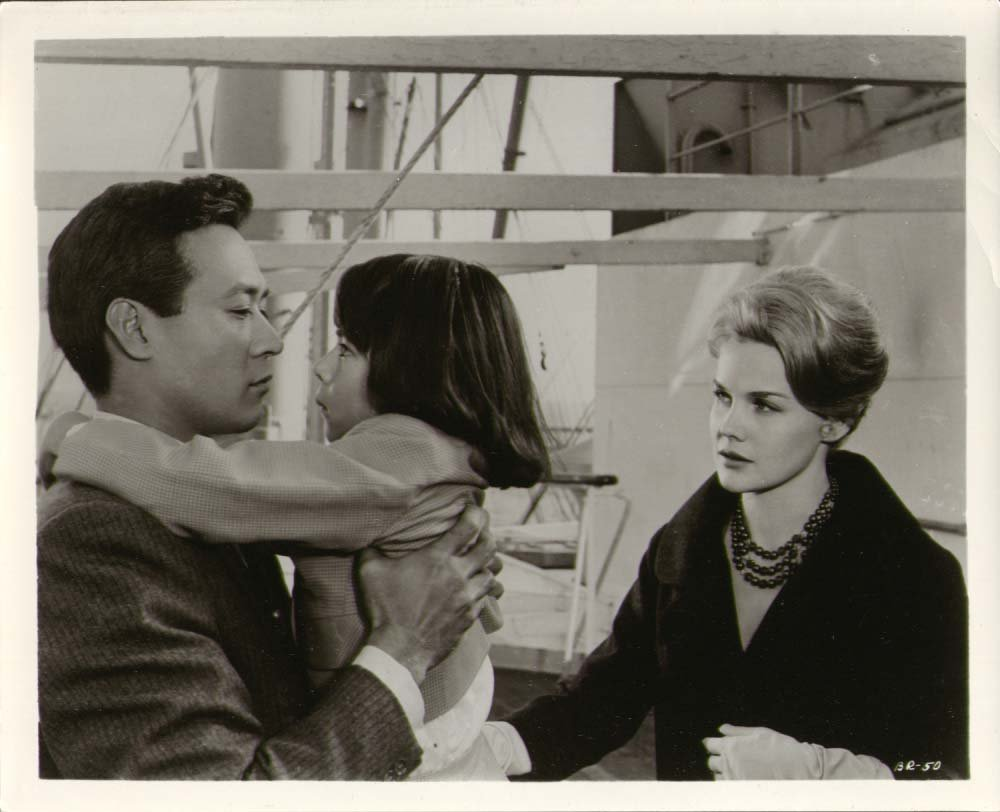 "Still from ""Bridge to the Sun,"" starring James Shigeta and Carroll Baker. Photo courtesy of Warner Bros. Pictures."