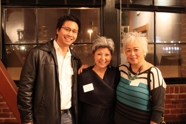 Guests at CAAM's CAAMFest 2014 Sneak Preview Screening and Reception. Photo by Leanne Koh.