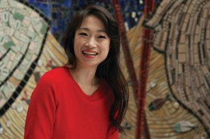 """CAAMFeast honoree Danielle Chang. Chang is also the host of the 6-episode series about Asian food in America, """"Lucky Chow."""""""