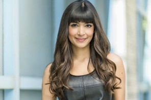 New Girl's Hannah Simone. Photo credit: Justin Jay/Fox.