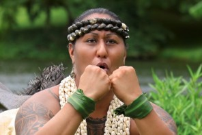 Hinaleimoana Kwai Kong Wong-Kalu is the main character in a feature documentary, Kumu Hina.