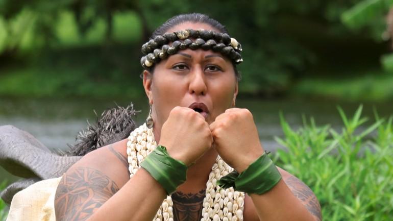 Hinaleimoana Kwai Kong Wong-Kalu is the main character in a feature documentary, Kumu Hina.