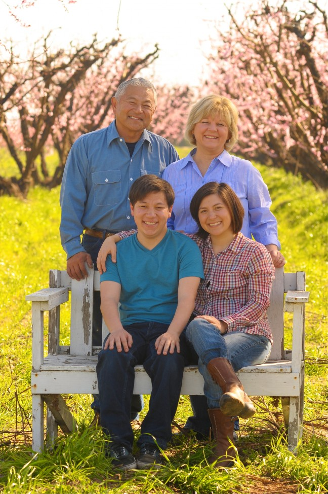 The Masumoto Family. Photo by Staci Valentine.