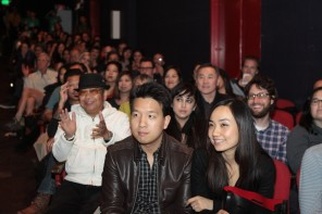 """9-Man"" screening at the Great Star Theater in SF Chinatown. Photo by Leanne Koh."