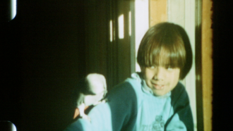 A young Kip Fulbeck, from his home movie collection.