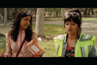 """Tiya Sircar and Kosha Patel in """"Miss India America."""""""