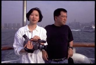 Director Ruby Yang and Lambert Yam.