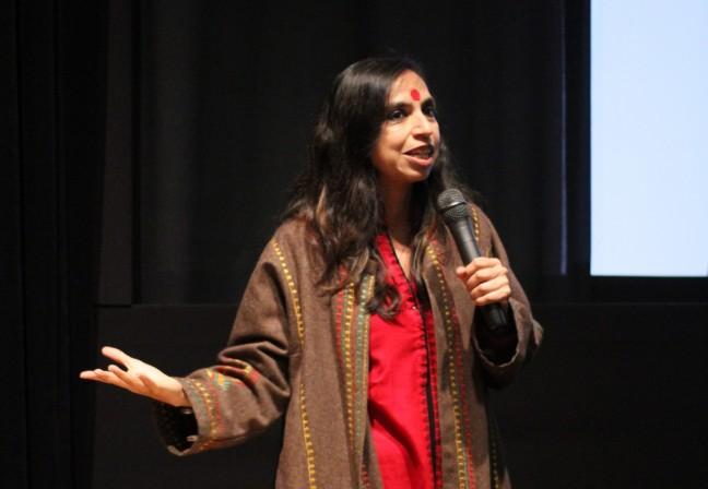 Shonali Bose at press conference
