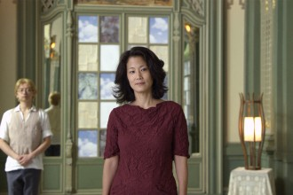 Jacqueline Kim in a scene from Jennifer Phang's ADVANTAGEOUS, playing at the 58th San Francisco International Film Festival, April 23 - May 7, 2015. Photo courtesy of the San Francisco Film Society.
