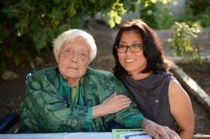 Grace Lee Boggs with filmmaker Grace Lee. Photo by Quyen Tran.