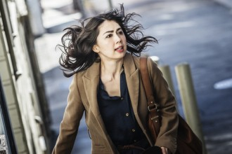 "Ayako Fujitani stars in Dave Boyle's ""Man from Reno."""