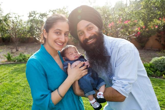 Bhajneet Singh family photo