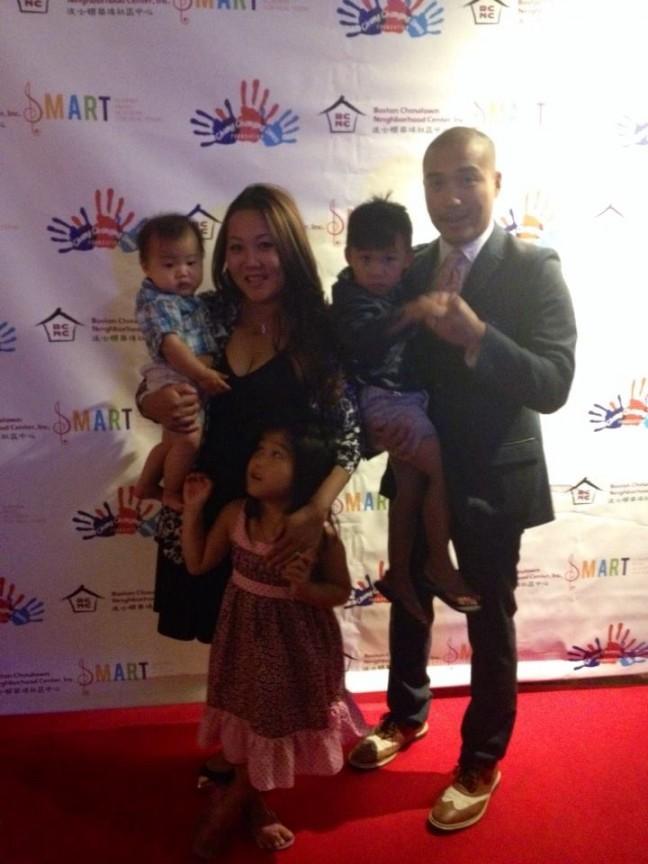 Giles Li and family