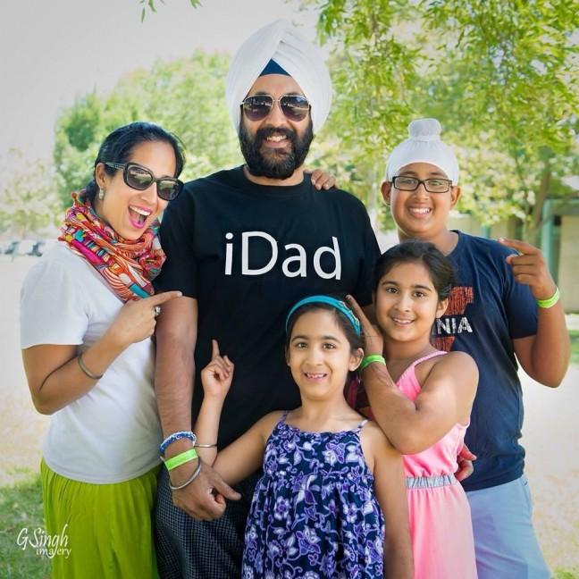 Mandeep Singh Dhillon family