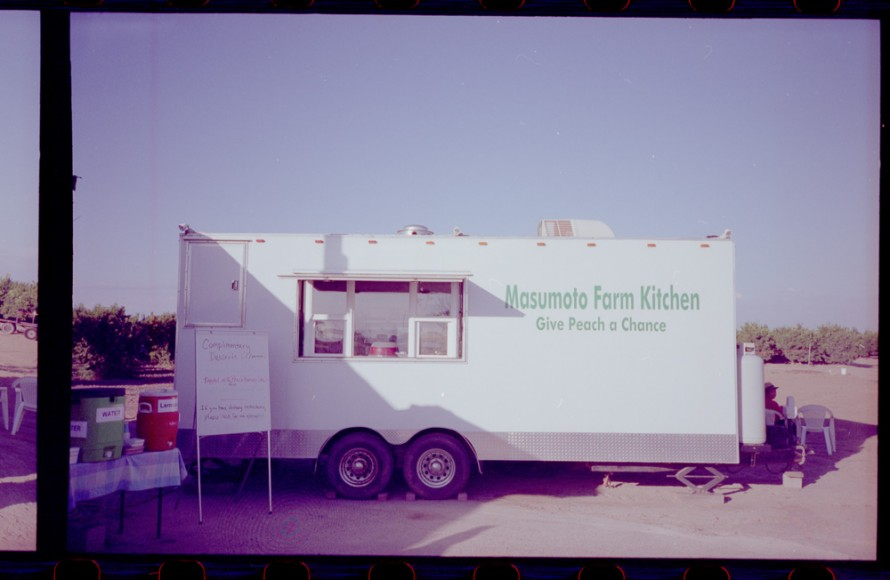 The mobile Masumoto farm kitchen. Photo by Tyler Cuddy