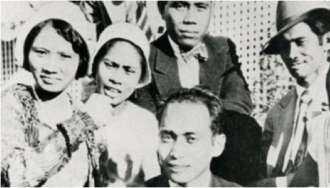 "Image from ""In No One's Shadows: Filipinos in America,"" a film distributed by CAAM."