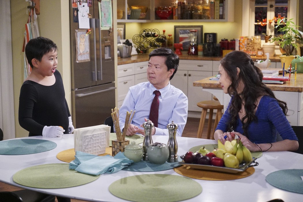 Dr. Ken on ABC, starring Albert Tsai, Ken Jeong and Krista Marie Yu. (©ABC/Danny Feld)