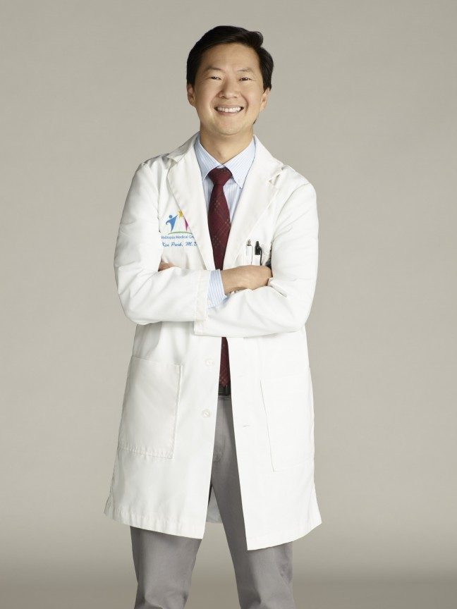 "ABC's ""Dr. Ken"" stars Ken Jeong as Dr. Ken. (©ABC/Michael Desmond)."