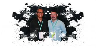 NUOC 2030 Director /Writer Nghiem-Minh Nguyen-Vo with Producer/Cinematographer Bao Nguyen