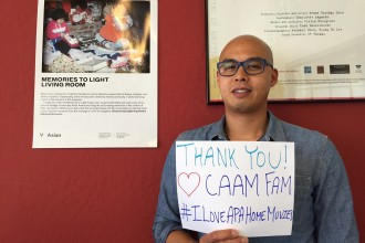 Davin Agatep, Project Manager for Memories to Light: Asian American Home Movies