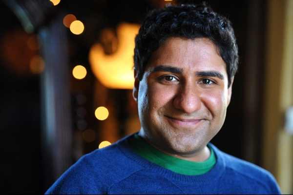 Parvesh Cheena played Gupta on Outsourced and says being the voice of Blades on Discovery Kids' Transformers Rescue Bots is freeing. Photo by Bjoern Kommerell.