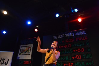 "Kristina Wong's new show is ""The Wong Street Journal."" Photo by Diana Wyenn."