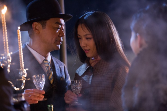 """Still from """"A Tale of Three Cities."""""""