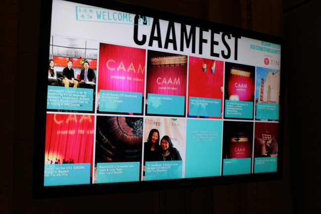 CAAMFest 2015 Opening Night. Photo by Leanne Koh.
