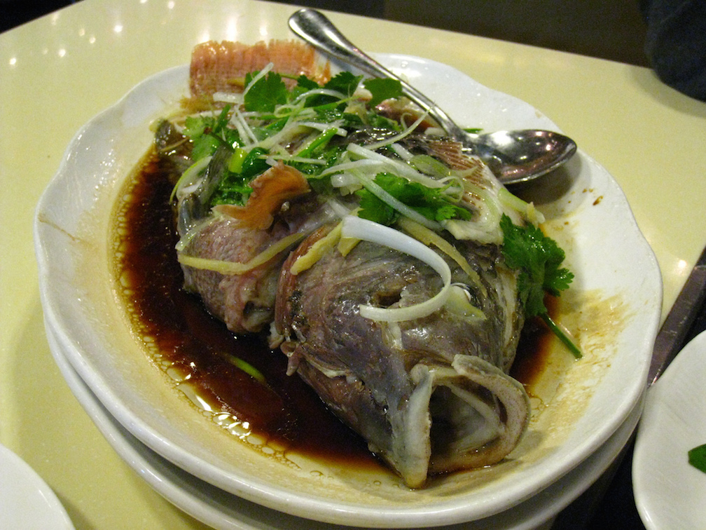 Chinese steamed fish dumpling recipes and more from for Steamed whole fish