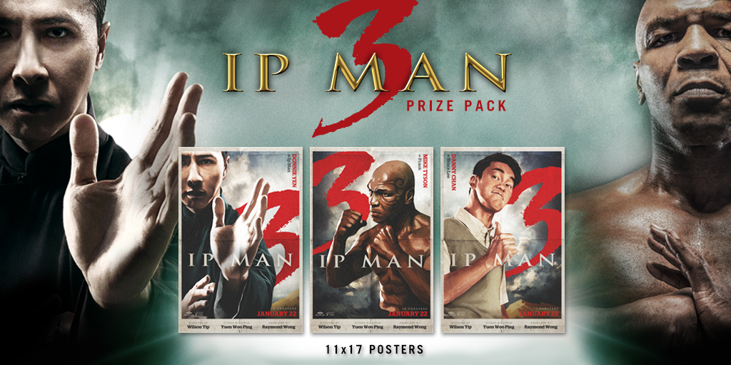 """Ip Man 3"" Coming to Theaters Jan. 22 + Prize Giveaway ..."