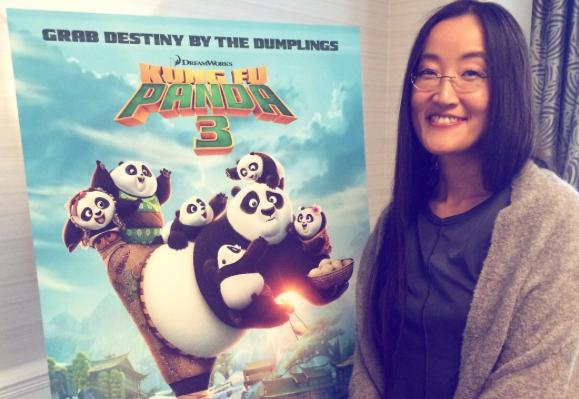 "Jennifer Yuh Nelson, one of the directors of ""Kung Fu Panda 3."""
