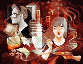 2015 Visual Arts 9-12 winner Valerie Kao.