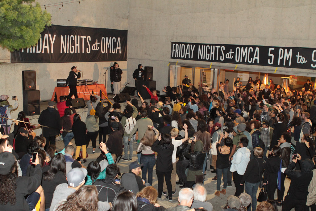 CAAMFest at OMCA, with The Bar musical performance. Photo by Leanne Koh.