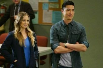 "AJ Cook and Daniel Henney on ""Criminal Minds: Beyond Borders"" / CBS"