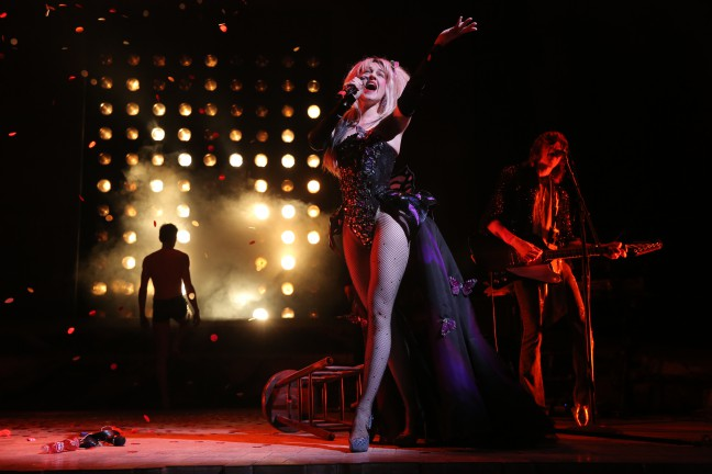 L ena Hall in HEDWIG AND THE ANGRY INCH, Belasco Theatre. Photo by Joan Marcus.