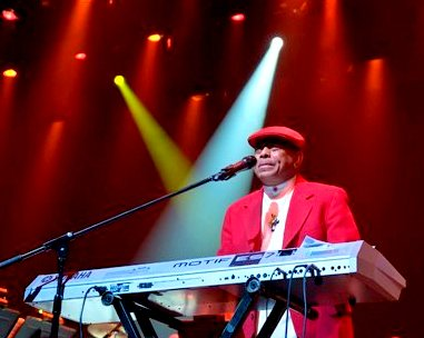 Joe Bataan performing in 2013. Photo courtesy of Joe Bataan.