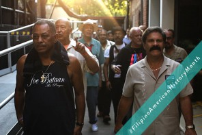 "Joe Bataan, left, a Latin Boogaloo musician, is featured in a new documentary called ""We Like It Like That,"" directed by Mathew Ramirez. Bataan is African American and Filipino American."