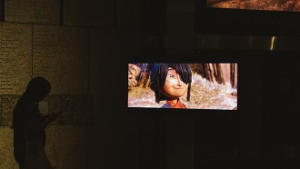 "Photo from ""The Artistry of Kubo: A Magical LAIKA Experience"" exhibit in LA. Photo by Sean Miura."